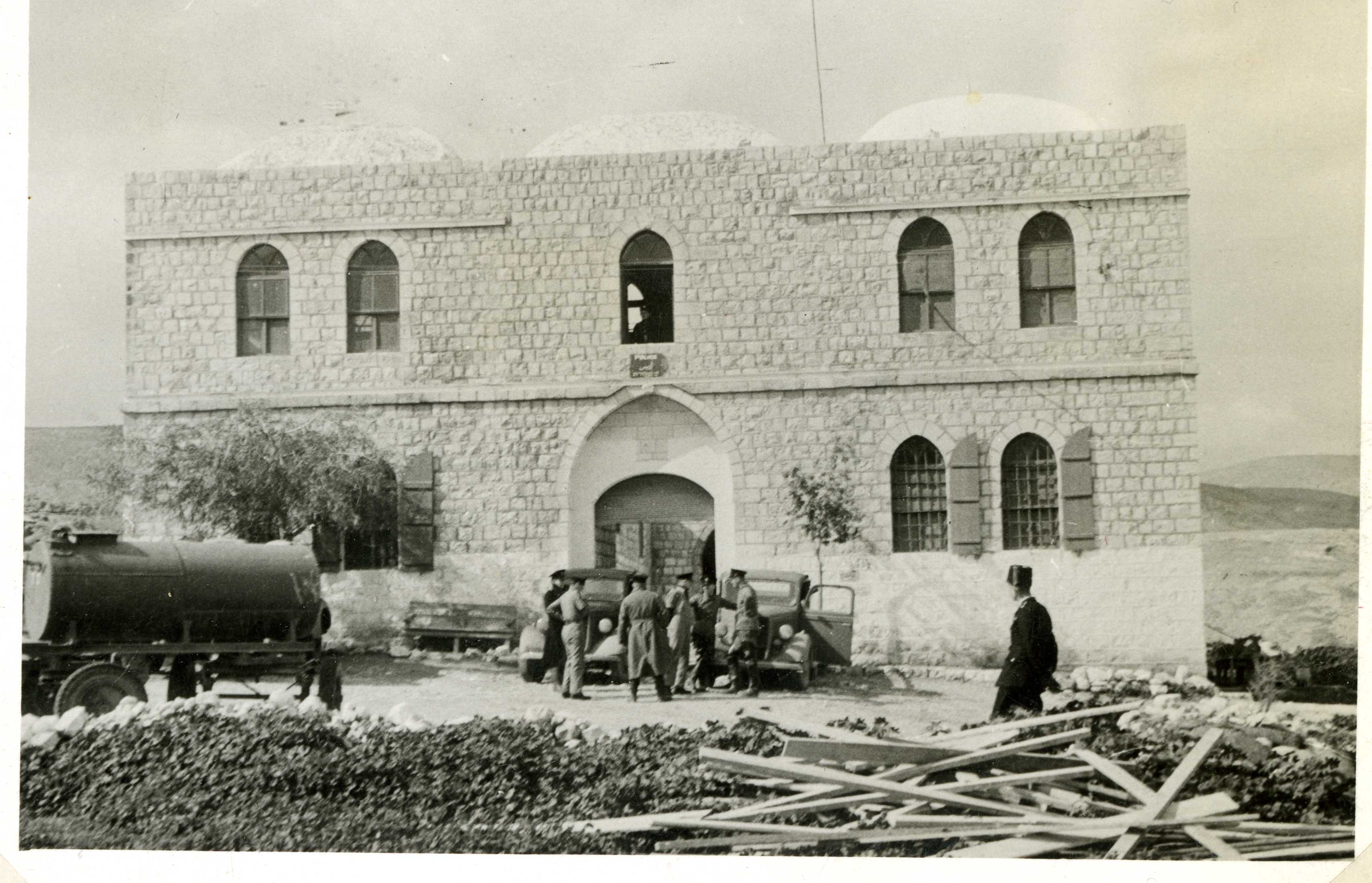 בית הממשל מהתקופה העות'מאנית - צילום: ארכיון המדינה