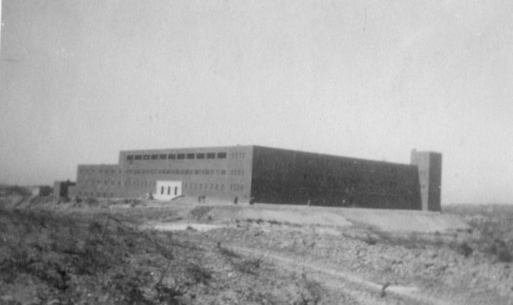 מבנה תחנת המשטרה חברון - מצודת טיגארט - מקור: ארכיון המדינה