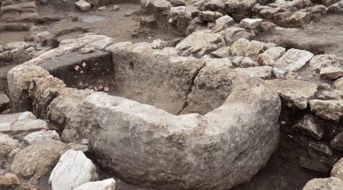 עיר קדומה עצומה בגודלה נחשפה בסמוך לחריש שבצפון השרון