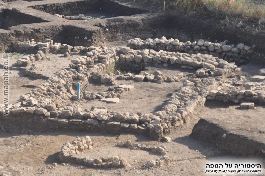 מבנה מיוחד בגזרת החפירות המזרחית