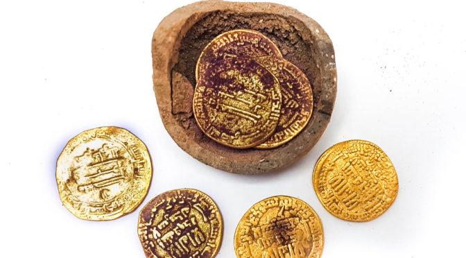 דמי חנוכה היסטוריים נחשפו בחפירות ארכיאולוגיות בעיר יבנה