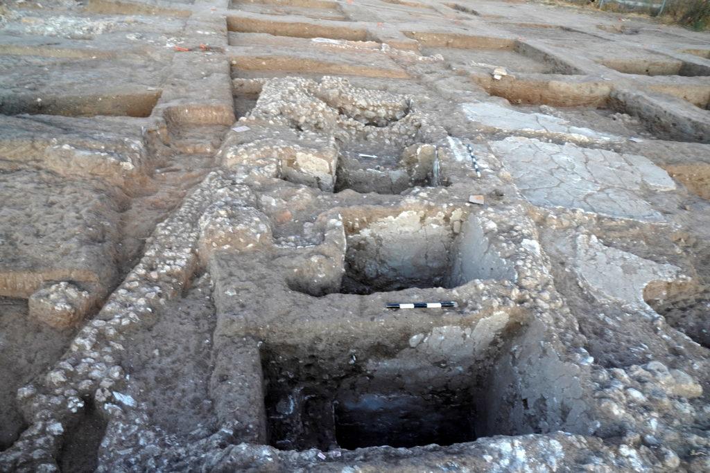 בורות שאליהם נאסף היין מהתקופה הפרסית
