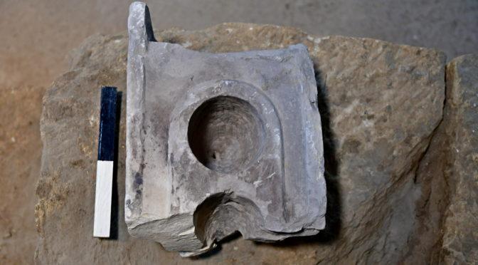 חפץ למדידה מדוייקת נחשף בחפירות עיר דוד ירושלים