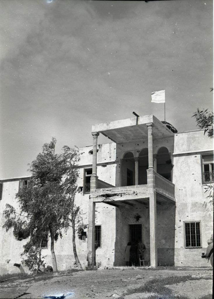 הארמון בניצנים ערב החזרת השבויים שנת 1949 - צילום: ארכיון גנזך המדינה