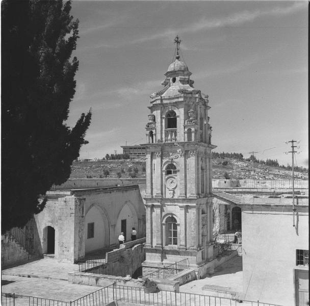 מבני מנזר המצלבה - מקור: ארכיון המדינה אוסף התצלומים של יהודה איזנשטארק