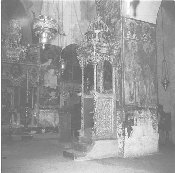 כנסיית המצלבה - מנזר המצלבה ירושלים - מקור: ארכיון המדינה אוסף התצלומים של יהודה איזנשטארק