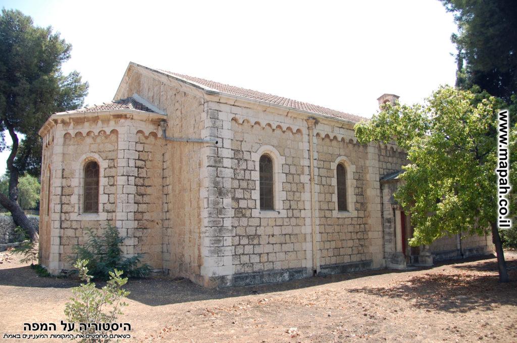 מבנה בית העם הטמפלרי עמק רפאים ירושלים - צילום: אפי אליאן