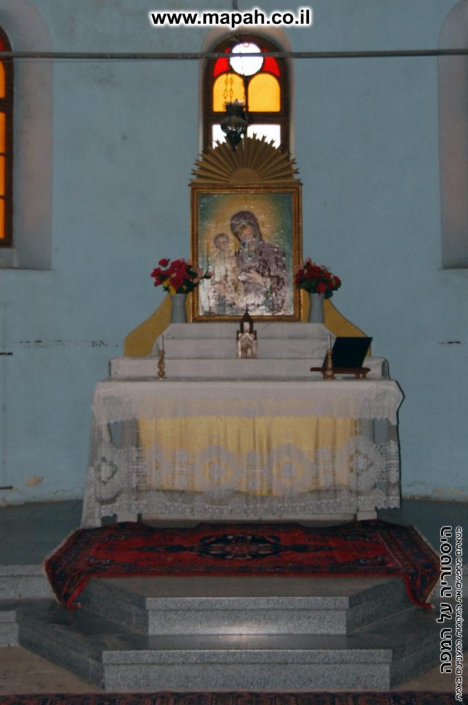 גומחת התפילה בית העם הטמפלרי - הכנסיה הארמנית - צילום: אפי אליאן