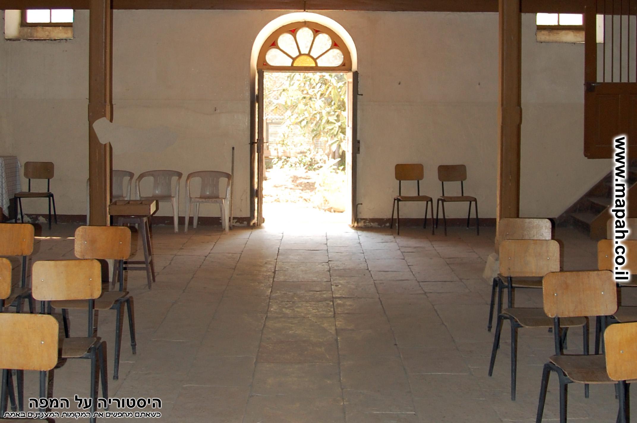 דלת הכניסה לבית העם הטמפלרי - צד דרום מערב - צילום: אפי אליאן