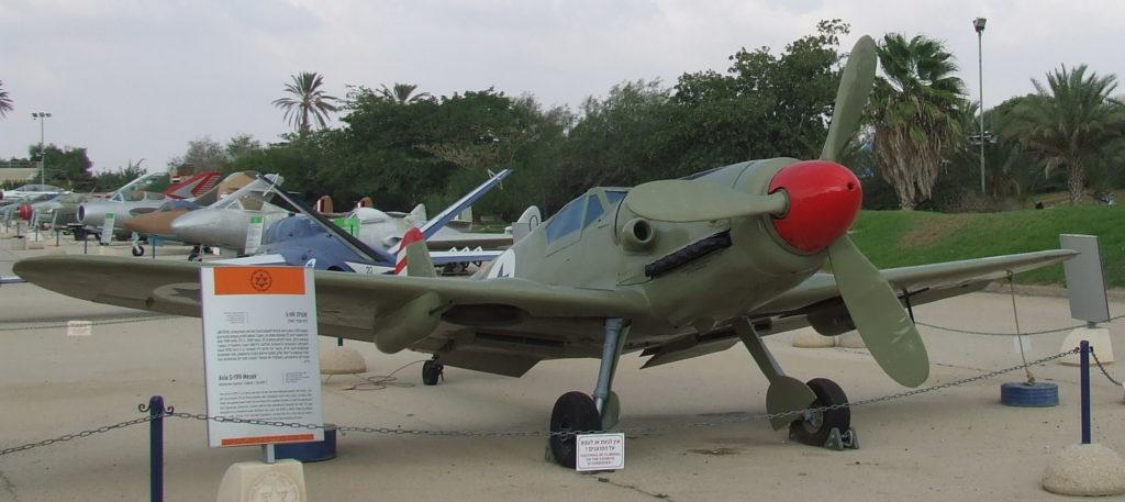 מטוס אוויה S-199 מסרשמיט - צילום: אפי אליאן