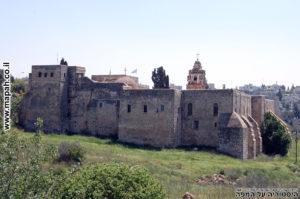 מנזר המצלבה בעמק המצלבה ירושלים - צילום: אפי אליאן