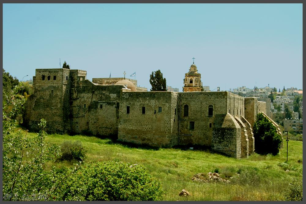 מנזר עמק המצלבה - צילום: אפי אליאן