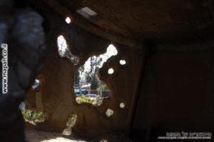 מגדל המים המחורר של קיבוץ יד מרדכי - צילום: אפי אליאן