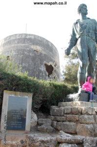 אנדרטת מרדכי אנילביץ קיבוץ יד מרדכי - צילום: אפי אליאן