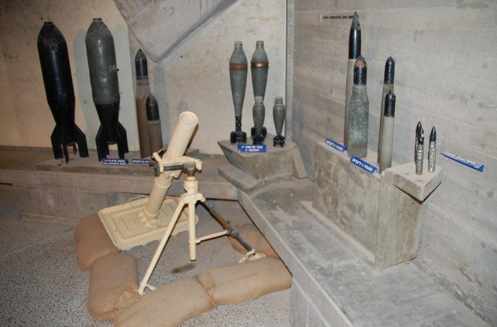 כלי נשק מהגנת קיבוץ יד מרדכי - צילום: אפי אליאן