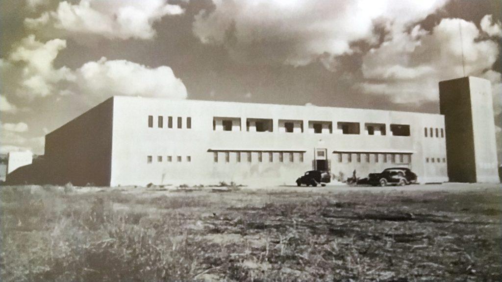 מבנה משטרת סרפנד אלחרב בשנה הראשונה לפעילותה - מקור: ארכיון גנזך המדינה