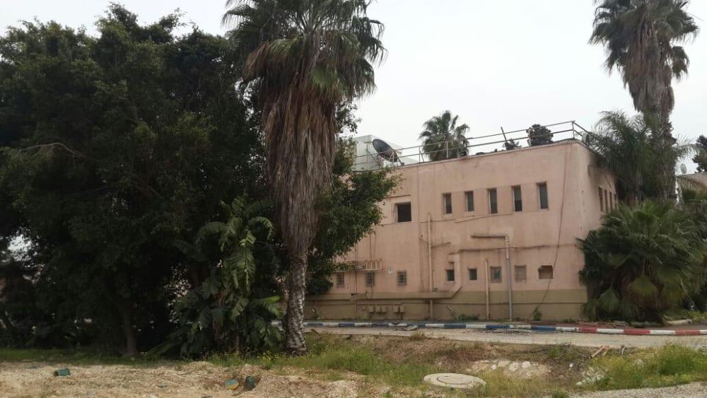 בסיס פיקוד העורף נס ציונה ערב הפינוי- צילום: אגף המבצעים והנכסים במשרד הביטחון, יח