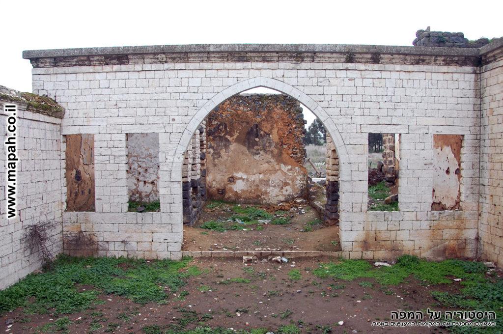 הכניסה הדרומית של בית האמיר - צילום: אפי אליאן