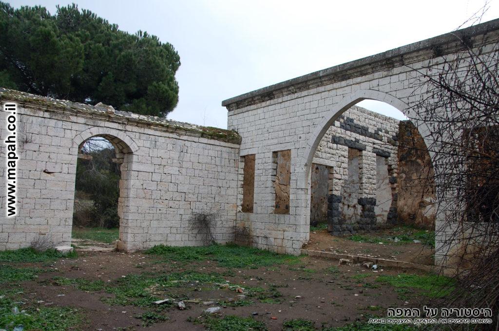 חצר ארמון האמיר פעור בווסט - צילום: אפי אליאן