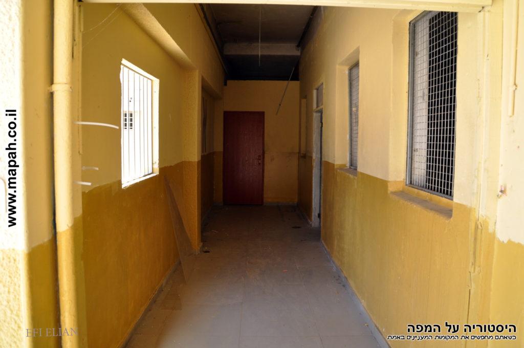 מסדרון המוביל לחדר הממוגן - פקע