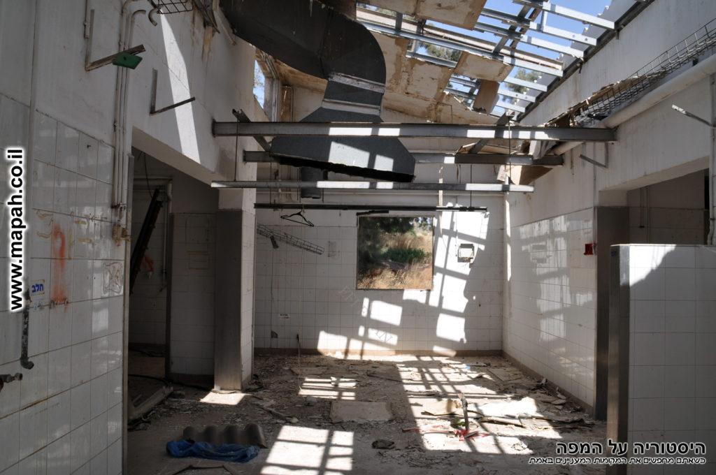 מבנה מטבח ההזנה מתקופת פיקוד העורף במבנה - צילום: אפי אליאן