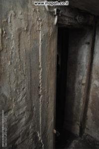 פתח הכניסה לחדר המרתף - צילום: אפי אליאן