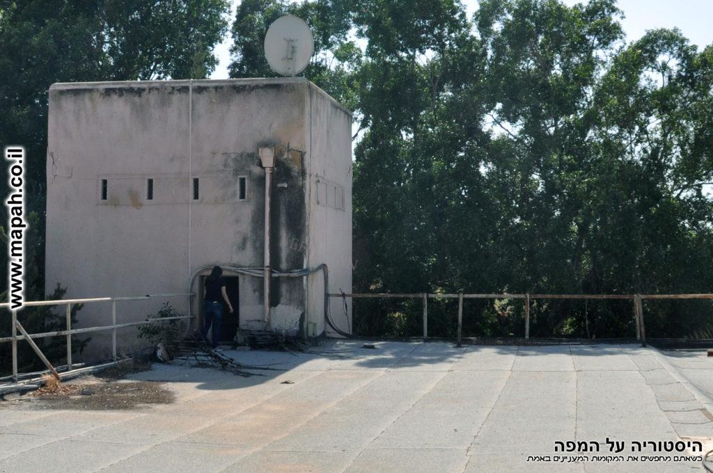 ראש המגדל הגבוה ומאגר המים - משטרת סרפנד בסיס פקע