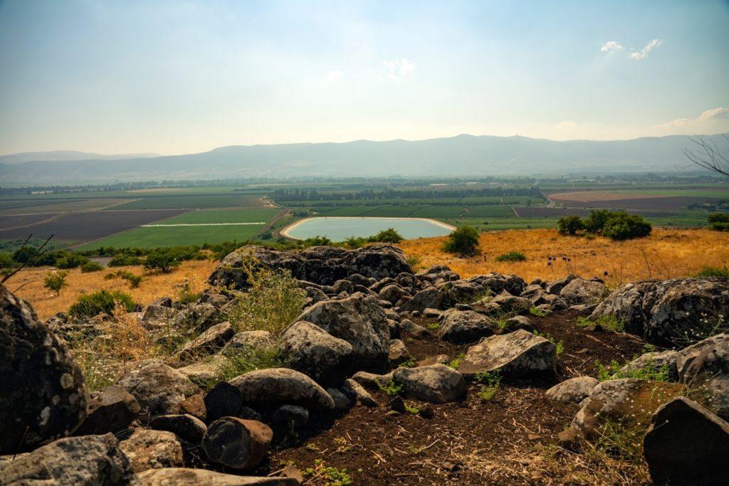 הנוף שנשקף מהדולמן ליד קיבוץ שמיר. צילום: יניב ברמן