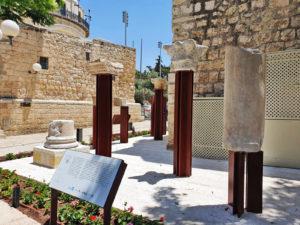 המוצגים החדשים ברובע היהודי בירושלים - צילום: אורית שמיר - רשות העתיקות