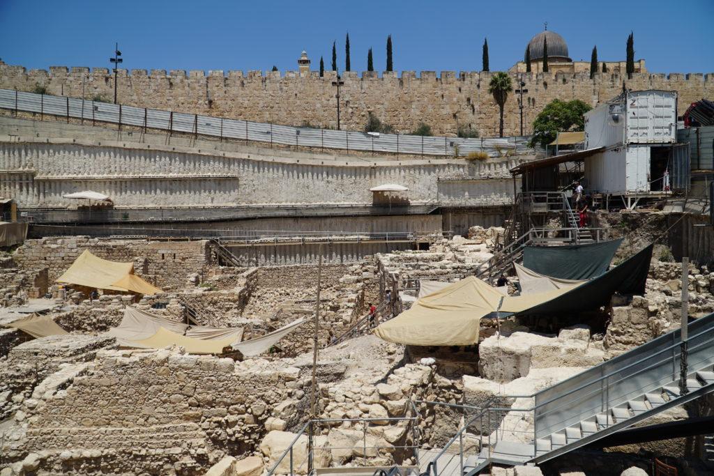 חפירת חניון גבעתי – תמונה כללית. צילום: רשות העתיקות