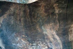 ציורי הסלע בדולמן שליד קיבוץ שמיר. צילום: יניב ברמן