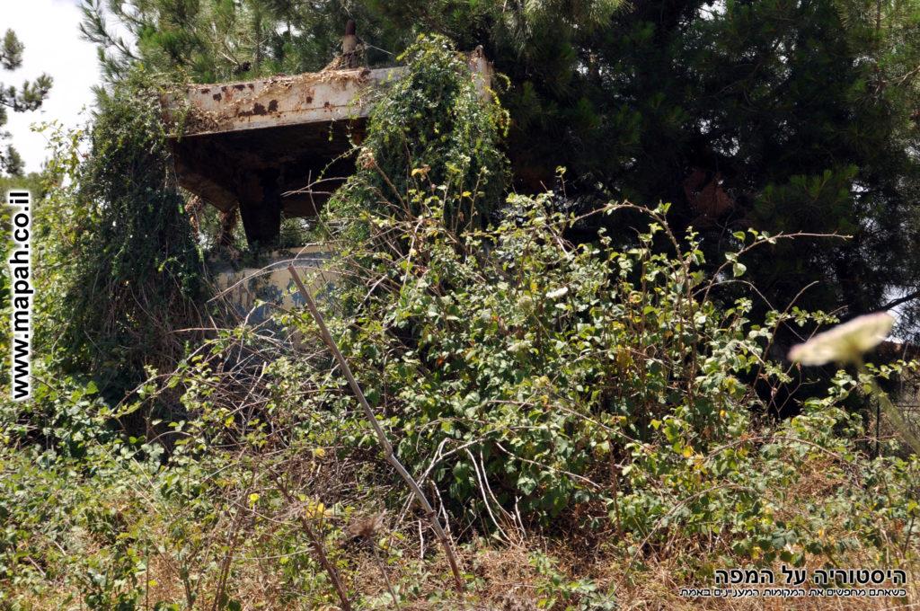 עמדת שמירה של המחנה הבריטי מטולה - צילום: אפי אליאן
