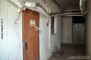 חדר תקשורת שנוסף ככל הנראה רק בשנים האחרונות - צילום: אפי אליאן