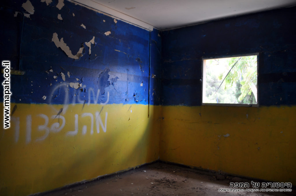 """אחד מהחדרים ששימשו את פלוגות צה""""ל - משטרת מטולה - צילום: אפי אליאן"""