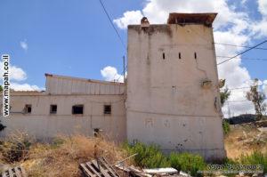 מגדל השמירה המשני במבט מבחוץ - צילום: אפי אליאן