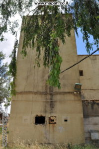 המגדל הגבוה מבין השניים במשטרת מטולה - צילום: אפי אליאן