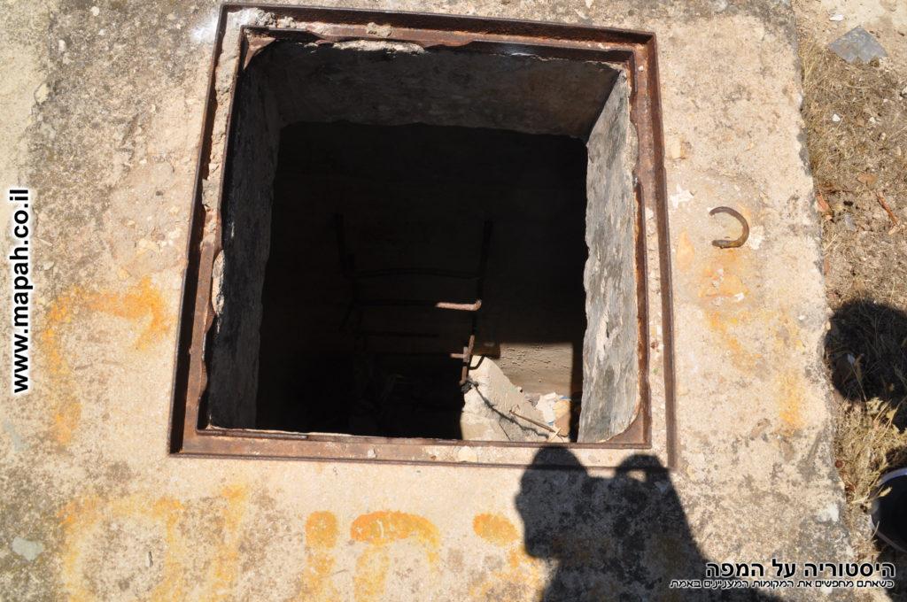 בור מים או יציאת חירום? מצודת שפר - צילום: אפי אליאן