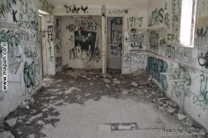 פנים חדר המכונות משטרת פראדיה - צילום: אפי אליאן
