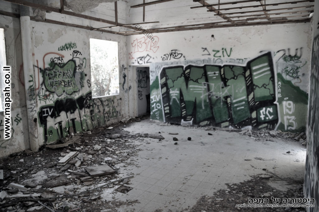 החדר האמצעי - שימש כמוסך במקורו - צילום: אפי אליאן