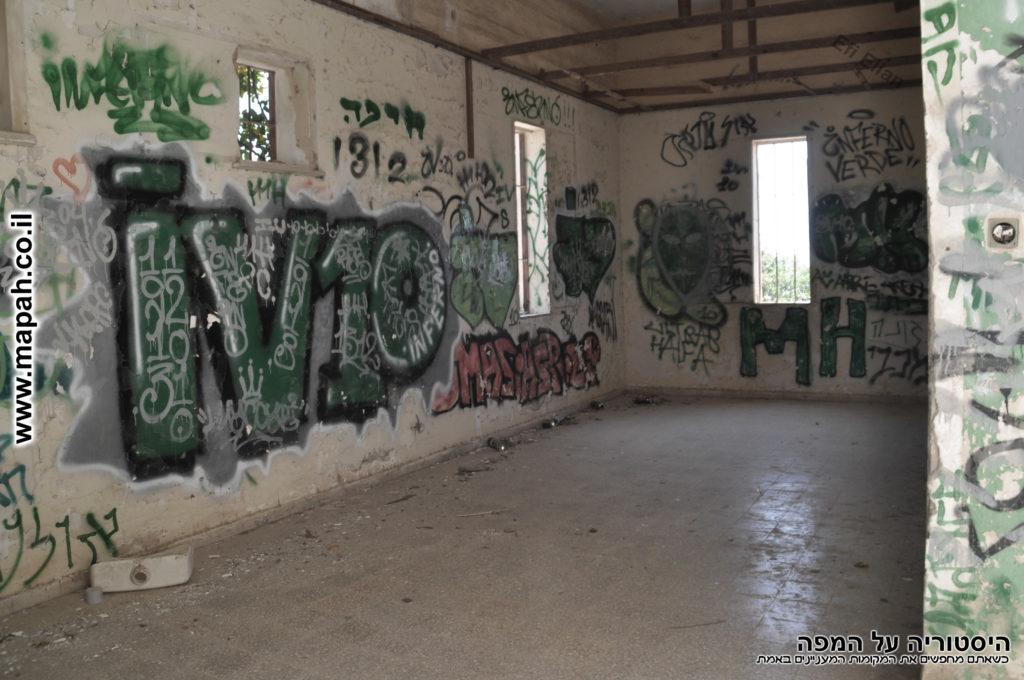 החדר בקומה השניה בדופן המזרחית - משטרת פראדיה - צילום: אפי אליאן