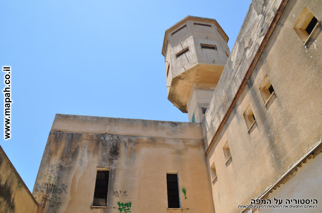 הצריח בראש תחנת משטרת פראדיה - צילום: אפי אליאן