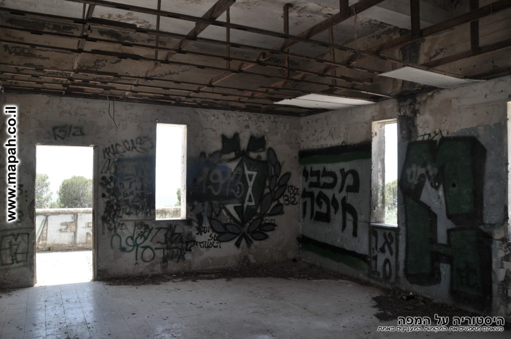 החדר המוביל למרפסת הקומה השניה - משטרת פראדיה - צילום: אפי אליאן