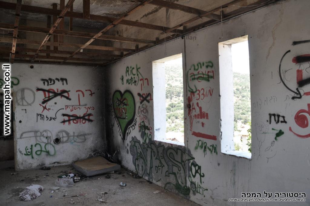 חדר הקומה העליונה משטרת פארדיה - צילום: אפי אליאן