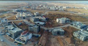 העיר רהט – מבט מלמעלה - צילום: אמיל אלג'ם