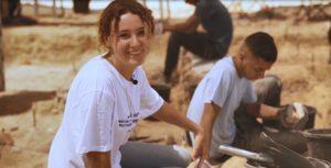 בני נוער השתתפו בחפירה כעבודת קיץ ונחשפו למורשת המקומית