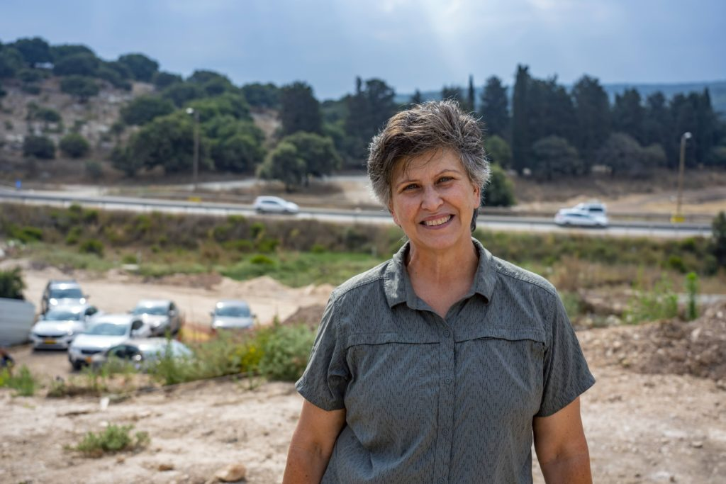 ענת הראל מקיבוץ חנתון. צילום: יניב ברמן
