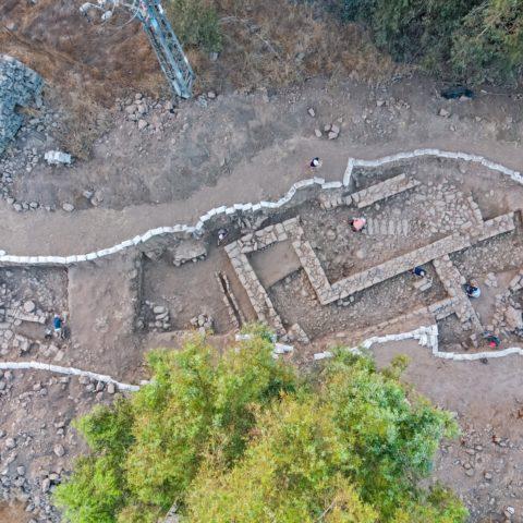 חפירה בנפח. צילום אסף פרץ רשות העתיקות