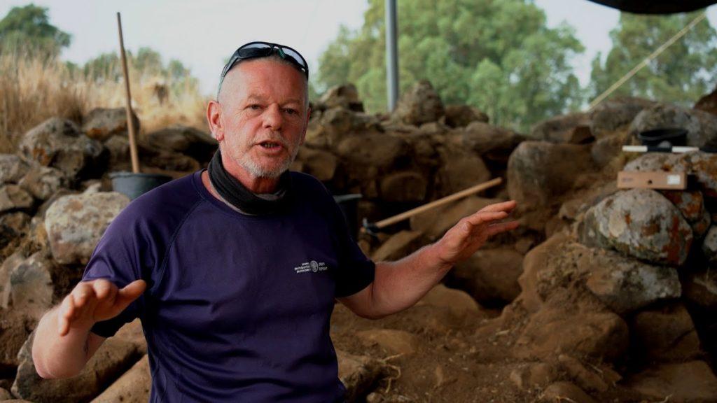 אנו ברון, מנהל החפירה מטעם רשות העתיקות. צילום: יניב ברמן