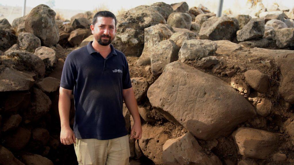 ברק צין, מנהל החפירה מטעם רשות העתיקות. צילום: יניב ברמן