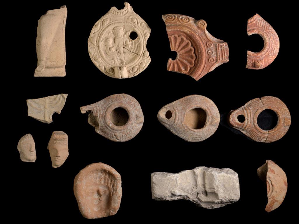 ממצאים מחפירת בית נטיף. צילום: דפנה גזית